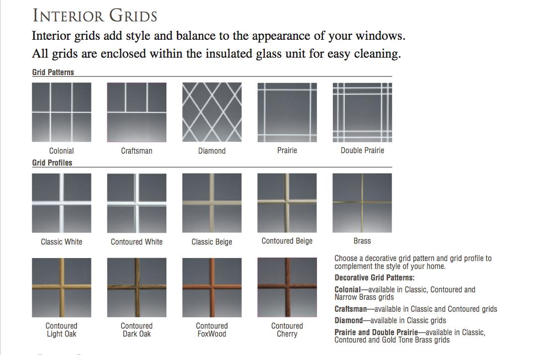 Casement Windows With Grids : Call lone star  amarillo casement grids